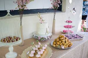 Spring in Paris - Cake by Princess of Persia