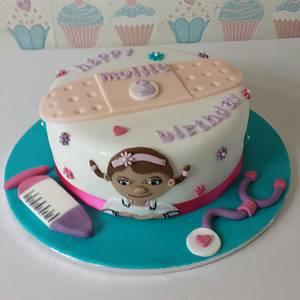 Doc mcstuffins - Cake by Bert's Bakes