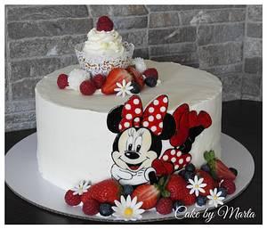 Minnie loves fruit - Cake by MartaMc