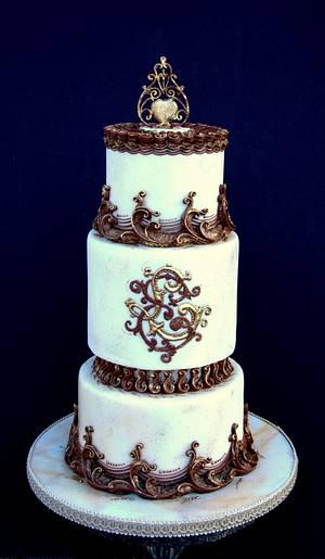 Opulence - Cake by Natasha Ananyeva (CakeVirtuoso Studio)