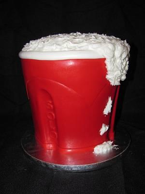 Red Solo Cup! - Cake by Jennifer Watson