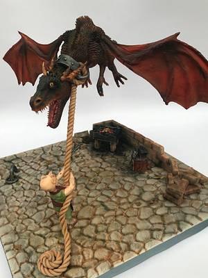Dragon Cake - Cake by Louise at Cake Oddity