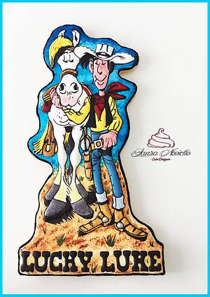 Bisquadro Lucky Luke - Cake by NovielloCake