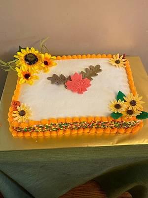 Fall Cake - Cake by Julia