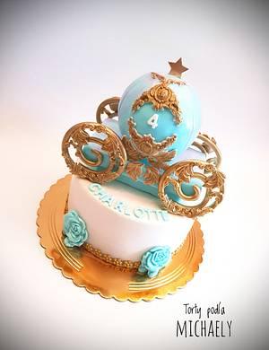 Cinderella's carriage - Cake by Michaela Hybska
