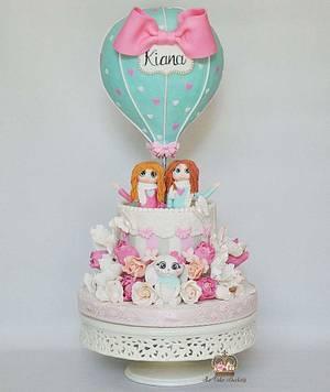 Kiana - Cake by Sumaiya Omar - The Cake Duchess