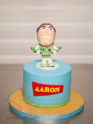 Buzz Lightyear Bobble-head Style Cake - Cake by Heidi