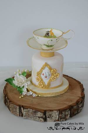 Vintage Easter Tea Party - Cake by Mila - Pure Cakes by Mila