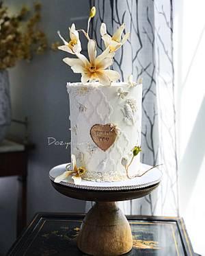 Sugar Magnolias - Cake by Dozycakes