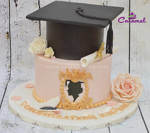 Graduation Cake - Cake by Caramel Doha