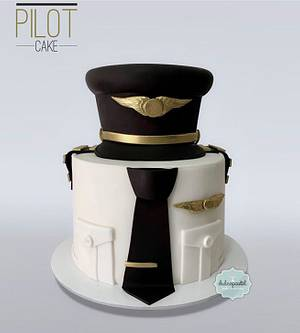 Torta Piloto Medellín - Cake by Dulcepastel.com