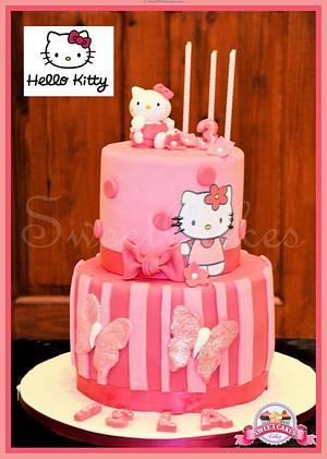 Hello Kitty 2 Tier Cake - Cake by Farida Hagi