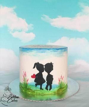 Love  - Cake by Zaklina