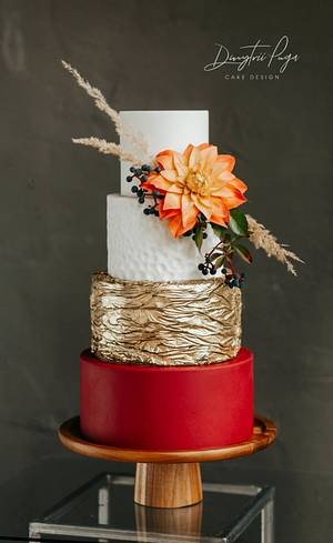 October wedding cake - Cake by Dmytrii Puga