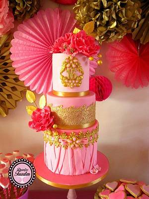 Sweet 16 for my princess - Cake by Daantje