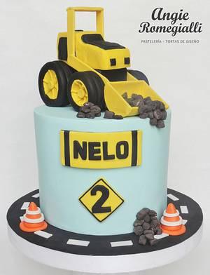 Construction cake - Cake by angieromegialli