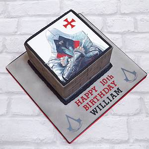 Assassin's Creed - Cake by The Chain Lane Cake Co.