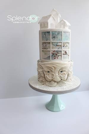 Let it Snow! - Cake by Ellen Redmond@Splendor Cakes