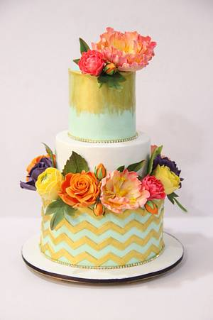 Mint love !  - Cake by Signature Cake By Shweta