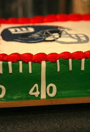 Super Bowl XLVI - Cake by SarahBeth3
