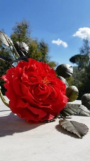 English rose - Cake by ANTONELLA VACCIANO