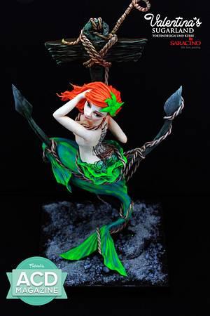 Undine - my mermaid for the ACD Magazine - Cake by Valentina's Sugarland