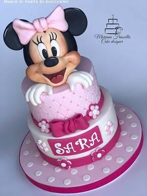Minnie - Cake by Mariana Frascella