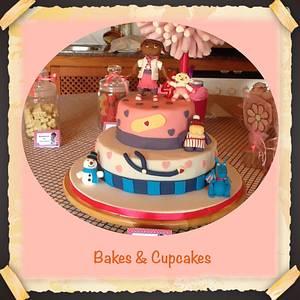 Dra. Juguetes Cake - Cake by Mónica