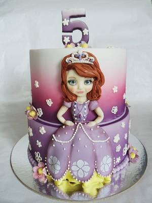 Sofia cake - Cake by Veronika