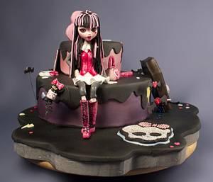 Monster High Draculaura cake - Cake by Star Cakes