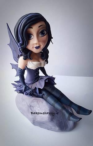 Fairy topper - Cake by Elaine Boyle....bakemehappy.ie