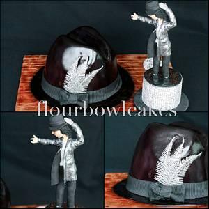 Michael Jackson Fever - Cake by Flourbowl Cakes