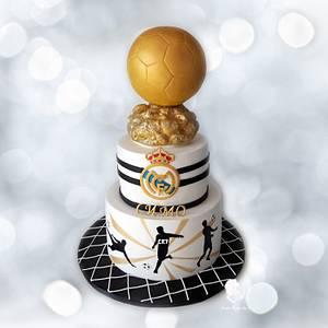 Golden Ball ....Football - Cake by Antonia Lazarova