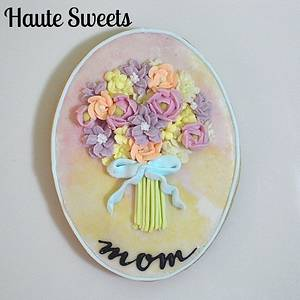 Pastel Bouquet Birthday Cookies - Cake by Hiromi Greer