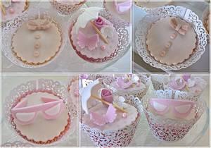 Wedding cupcakes II. - Cake by Tortolandia