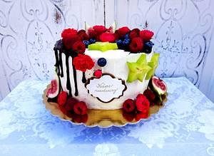 Summer fruit cake  - Cake by Daphne
