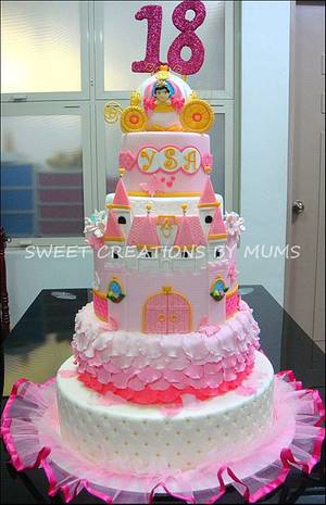 Princess Themed Cake  - Cake by Jo-ann M. Tuazon