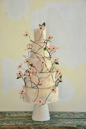The Art of Aging  - Cake by Sumaiya Omar - The Cake Duchess
