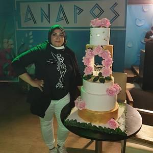 Wedding cake - Cake by Dolly Hamada