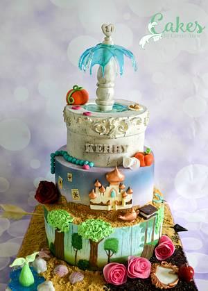 A Subtle Disney Princess Cake - Cake by Carrie-Anne Dallas