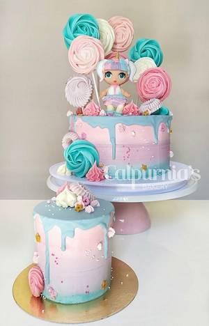 Drip cake LOL surprise  - Cake by Calpurnia's bakery
