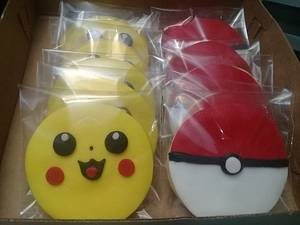 Pokemon cookie - Cake by Janelle Espinosa