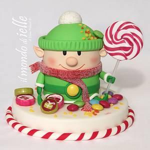 Candies Elf - Cake by il mondo di ielle