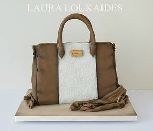 Handbag Cake - Cake by Laura Loukaides