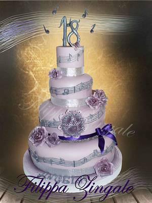 Violet cake - Cake by filippa zingale