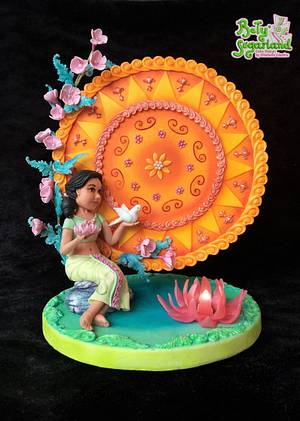 Sinhalese New Year - A Tribute to Sri Lanka - Cake by Bety'Sugarland by Elisabete Caseiro
