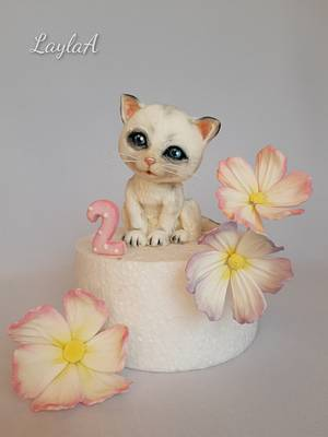 Little kitty  - Cake by Layla A