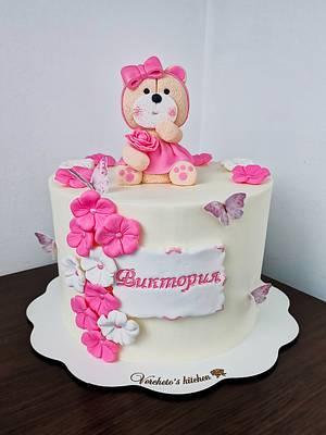 Teddy bear cake  - Cake by Vyara Blagoeva