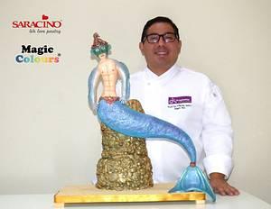 Mermaids Collab by Sugar Mad group - Cake by Erick Zea O'Phelan Suárez Sugar Art