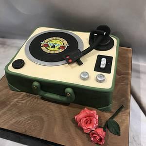 Record player - Cake by bakemydayiom
